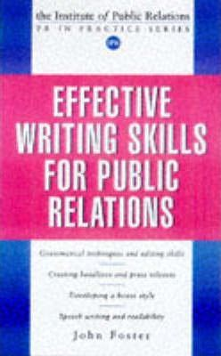 EFFECTIVE WRITING SKILLS FOR PR