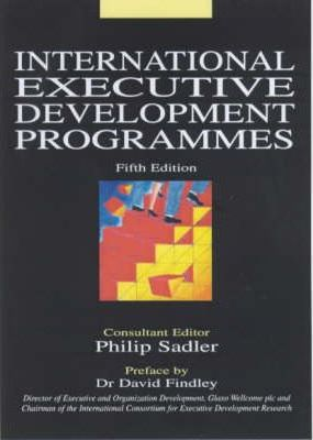 INTERNATIONAL EXECUTIVE DEVELOPMENT PROGRAMMES 5/E