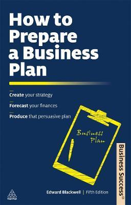 how to prepare a business plan for a new business