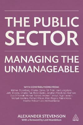 The Public Sector  Managing the Unmanageable
