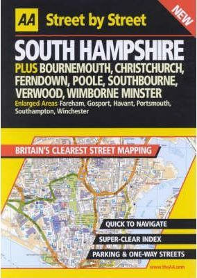 AA Street by Street Hampshire, South