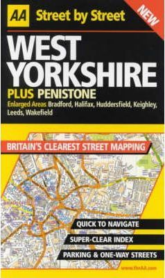 AA Street by Street Yorkshire, West