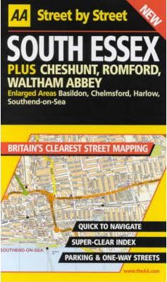 AA Street by Street Essex, South