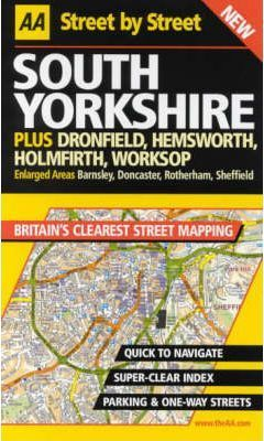 AA Street by Street Yorkshire, South