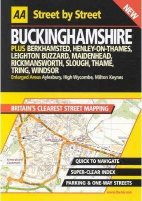 AA Street by Street Buckinghamshire