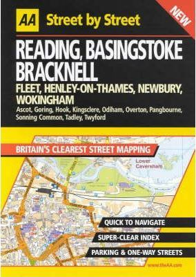 AA Street by Street Reading, Basingstoke, Bracknell