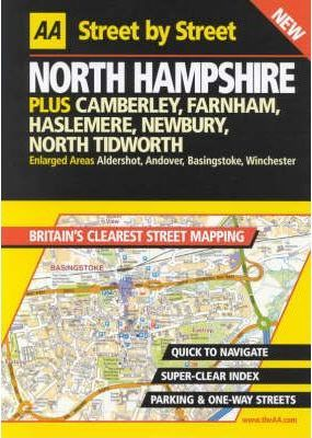 AA Street by Street Hampshire, North