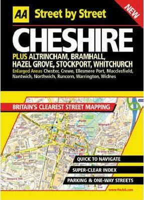 AA Street by Street Cheshire