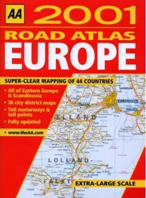 Road Atlas Europe 2001