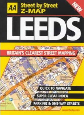 AA Street by Street Z-map Leeds