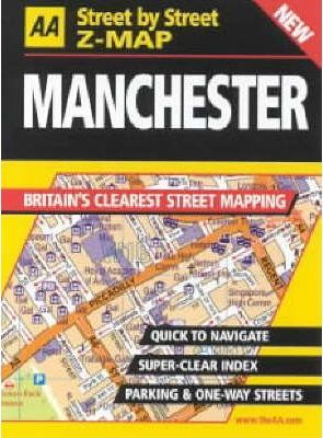 AA Street by Street Z-map Manchester