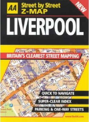 AA Street by Street Z-map Liverpool
