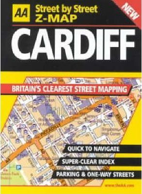 AA Street by Street Z-map Cardiff