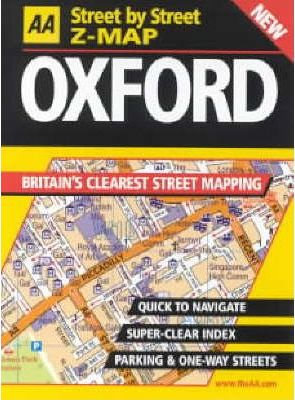 AA Street by Street Z-map Oxford