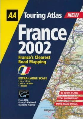 Touring Atlas France 2002