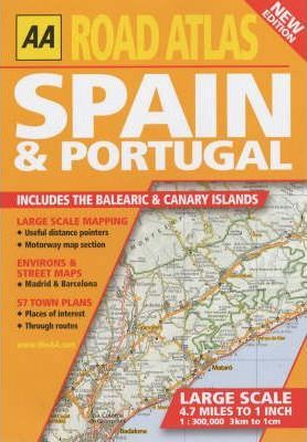 Road Atlas Spain and Portugal