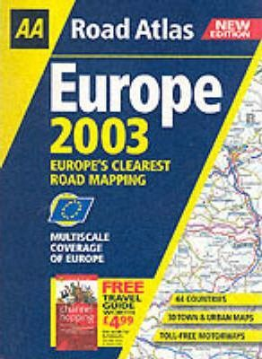 Road Atlas Europe 2003