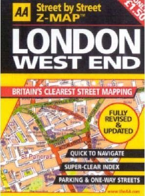 AA Street by Street Z-map London West End