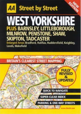 AA Street by Street West Yorkshire