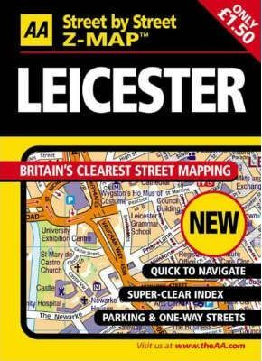 AA Street by Street Z-Map Leicester
