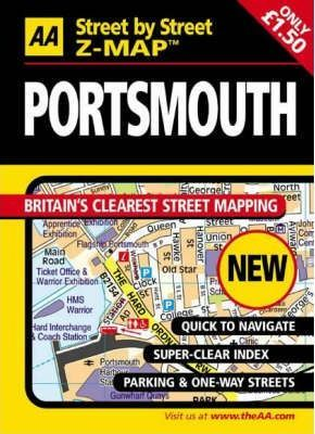 AA Street by Street Z-Map Portsmouth