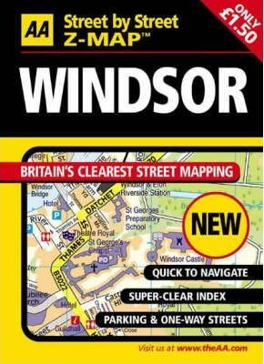 AA Street by Street Z-Map Windsor