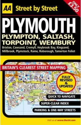 AA Street by Street Plymouth: Midi Local