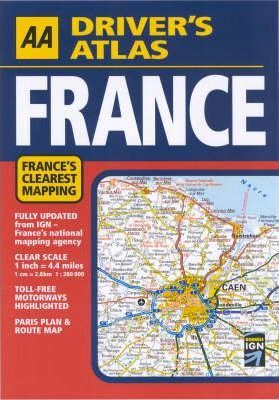 AA Driver's Atlas France 2004
