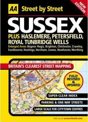 AA Street by Street Sussex Maxi