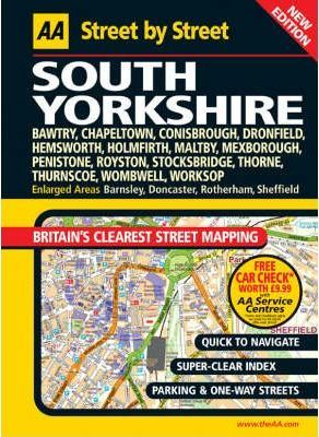 AA Street by Street South Yorkshire