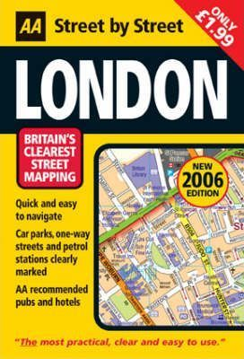 AA Street by Street London Map 2006: Self-cover