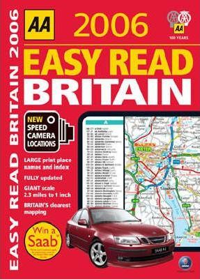 AA Easy Read Atlas Britain 2006