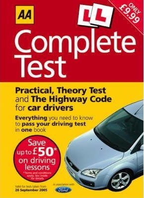 AA The Complete Driving Test Book