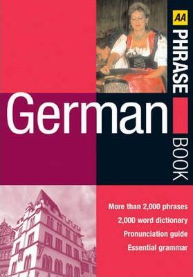AA German Phrase Book