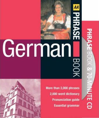 AA German Phrase Book and CD