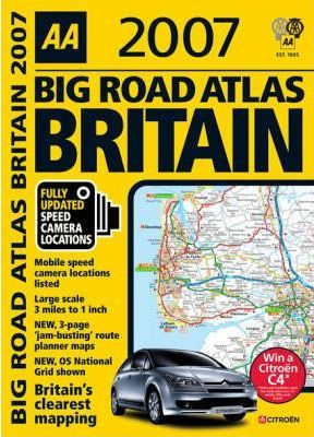 AA Big Road Atlas Britain 2007