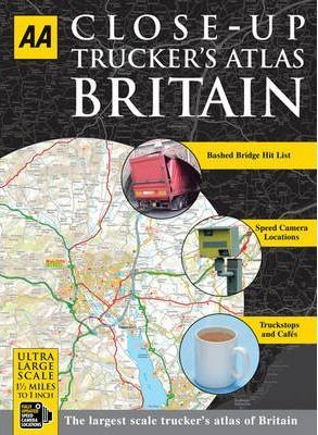 AA Close-up Truckers Atlas Britain: A4