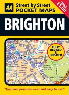 AA Street by Street Pocket Map Brighton