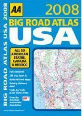Big Road Atlas USA 2008
