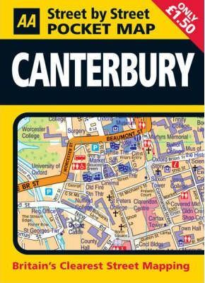 Pocket Map Canterbury
