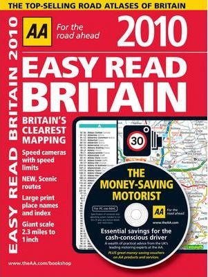 AA Easy Read Atlas Britain 2010
