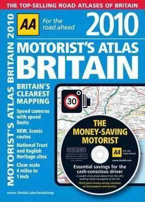 AA Motorist's Atlas Britain 2010