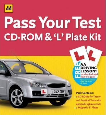 Pass Your Test CD-ROM and 'L' Plate Kit