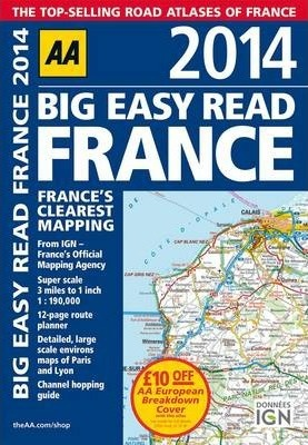 AA Big Easy Read France 2014