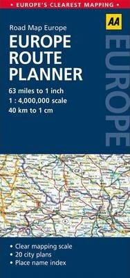 Europe Route Planner