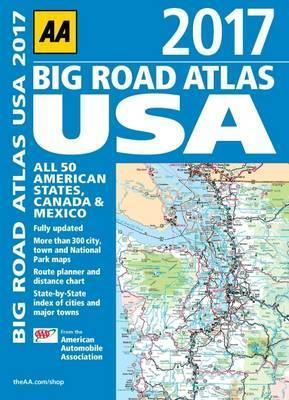 AA Big Road Atlas USA 2017