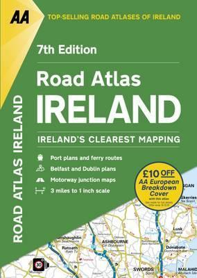 AA Road Atlas Ireland