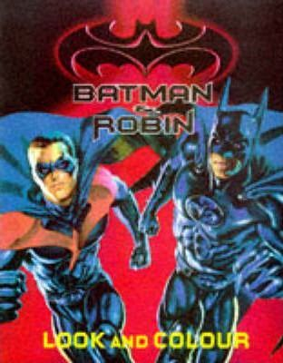 Batman and Robin: Look and Colour