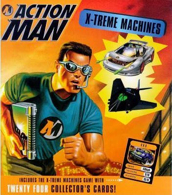 Action Man: X-treme Machines: The Ultimate Guide to Action Man's Unique Vehicles and Equipment