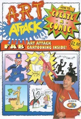 """Art Attack"" Create-a-comic"